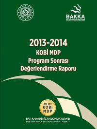2013-2014 KOBİ Program Sonrası Değerlendirme Raporu