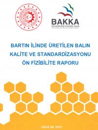 Bartın Bal Üretimi Kalite ve Standardizasyonu Ön Fizibilite Raporu