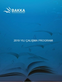Batı Karadeniz Kalkınma Ajansı 2019 Yılı Çalışma Programı